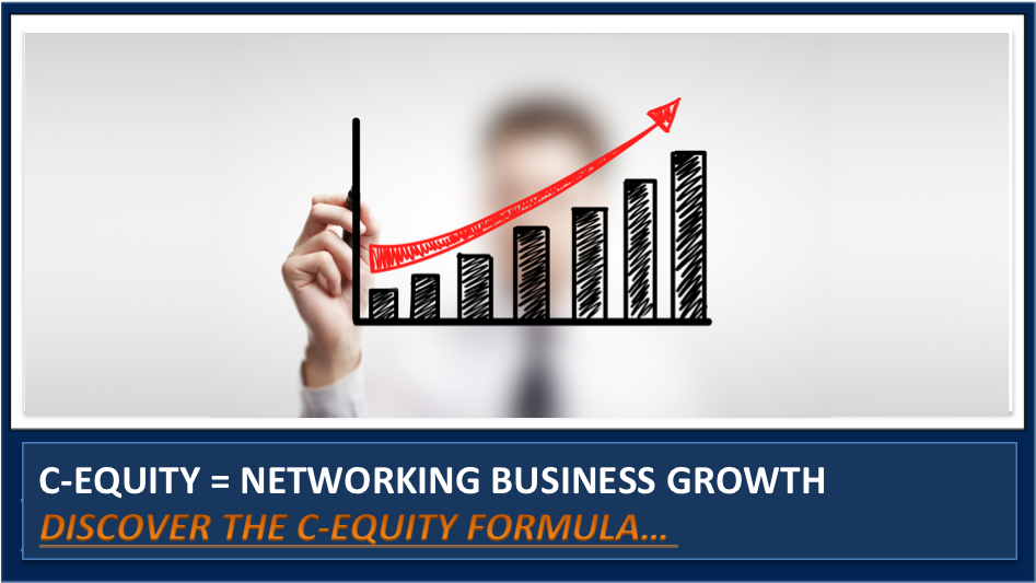 How to Use the 'C-Equity' Formula to Grow your Networking & Marketing Business.