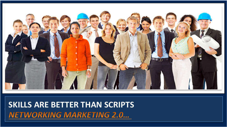 Recruiting Professionals into Network Marketing with Scripts is Wack:  3 Better Ways Here