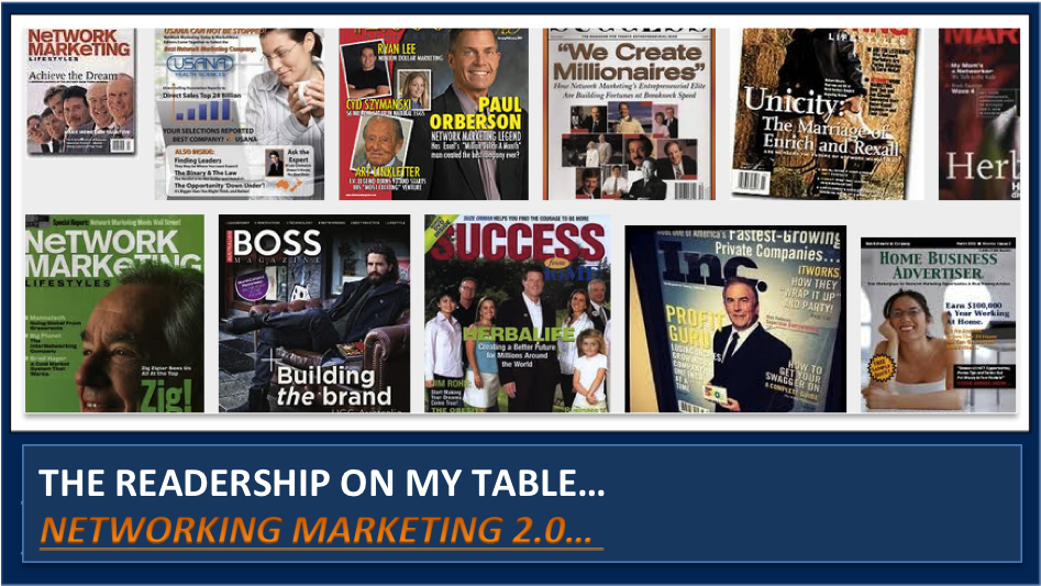 The PROs & CONs of generating leads from network marketing magazines