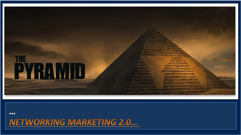 Do you still think network marketing is a pyramid scheme?  Come in here…