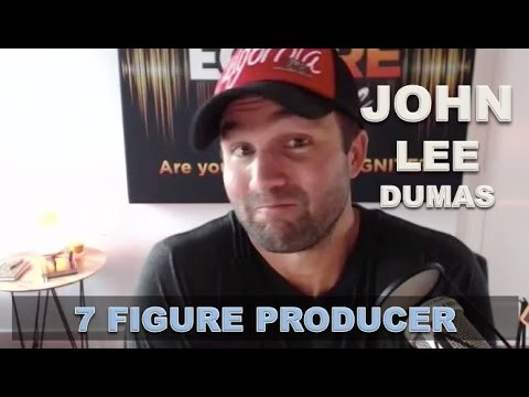 John Lee Dumas on why (making money) revenue is important for a business