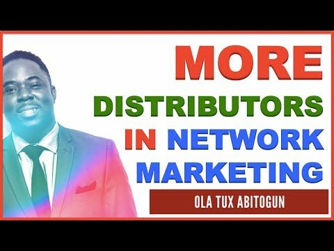 How to Recruit Distributors in Network Marketing
