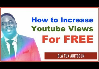 How to Increase Youtube Views for FREE Traffic, Leads, Endless Sign Ups and Revenue in Your Business