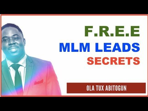 MLM Leads – How to NEVER Buy MLM Leads Again and Get it FREE