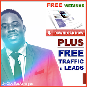 OLA Tux Abitogun - Network Marketing Tips