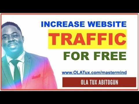 How to Increase Website Traffic for Free