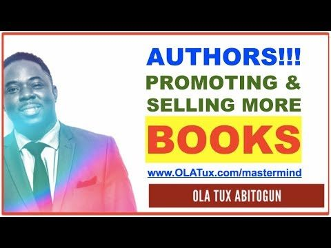 Marketing for Authors | How to Promote and Market a Book on Facebook for FREE; Self Published or NOT