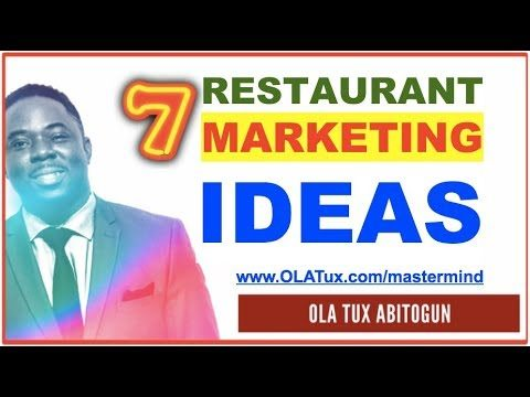 Restaurant Marketing Strategies – 7 Surefire Promotion Ideas for your Restaurant Business
