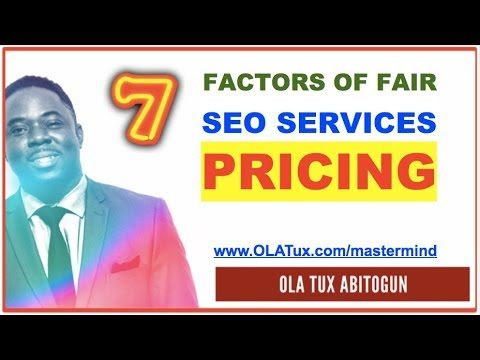 SEO Services Pricing – 7 Factors on How Much to Charge for SEO Services by Marketing Companies