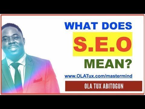 What does SEO Mean in Blogging, Marketing and Business and What does SEM Stand For?