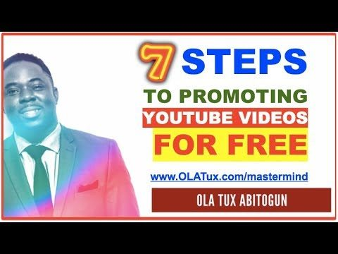 [7 STEPS] How to Promote YouTube Videos for FREE