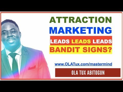Attraction Marketing Network Marketing Leads Generation Strategy and Does Bandit Signs Work?