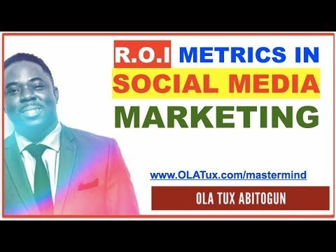 How to Measure Impact and R.O.I of Social Media Marketing Performance & Success