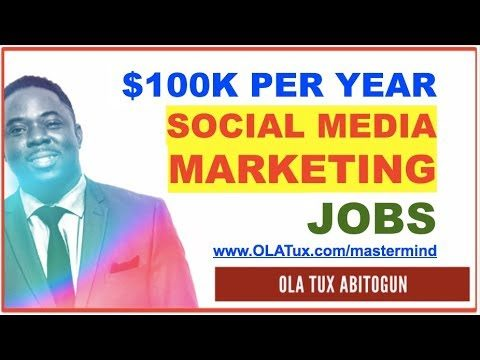 Social Media Marketing Jobs: 3 Secrets to Landing Multiple $100K Per Year Social Media Marketing Jobs