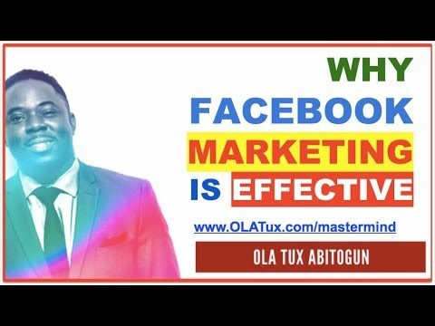 Facebook Marketing – Why Facebook Marketing is Effective
