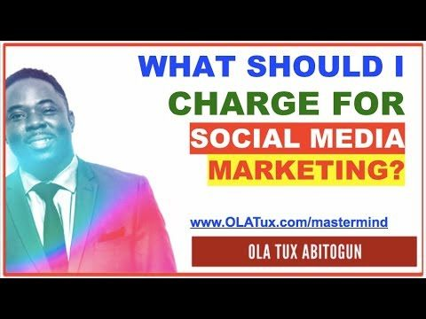 Social Media Marketing – What Should I Charge for Social Media Marketing?