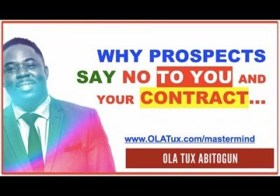 Real Estate Wholesale Contract – Why prospects say NO to you and your contract…
