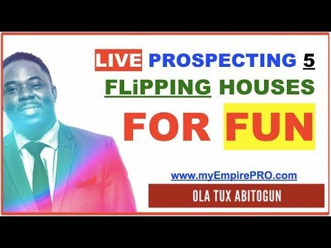 Flipping Houses with FUN Phone Calls – myEmpirePRO LIVE PROSPECTING S1E5