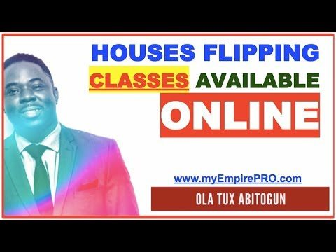 House Flipping Classes Available Online –  – How to Make $10K – $20K Per Deal