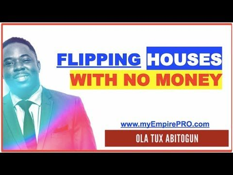 How to Start Flipping Houses With NO Money