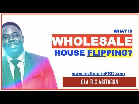 What is Wholesale House Flipping & How to Make $10K-$20K Flipping Houses?