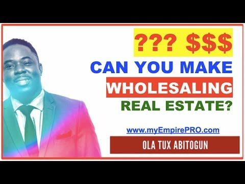 How Much Money Can You Make Wholesaling Real Estate?