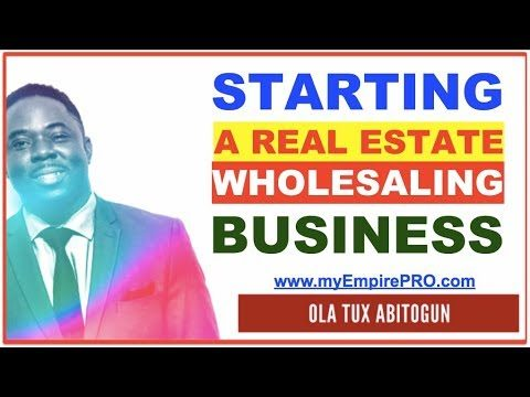 How to Start a Real Estate Wholesaling Business Online