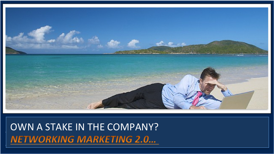"""The """"1"""" Thing that your affiliated network marketing company wants from you."""