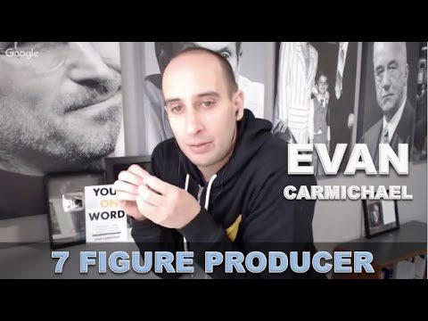 Evan Carmichael on how to build a youtube channel to 536,687 subscribers