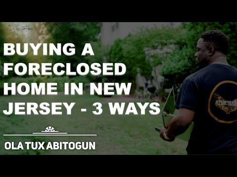 How do you buy a foreclosed home in new jersey