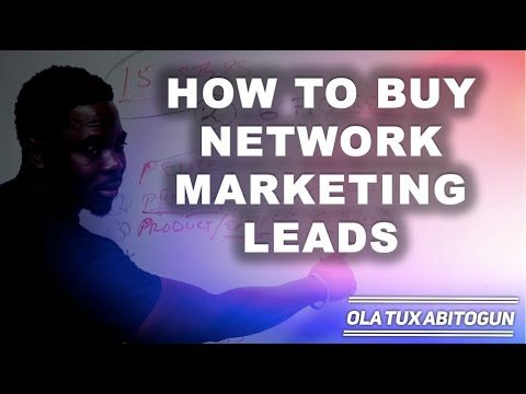How to Buy Network Marketing Leads
