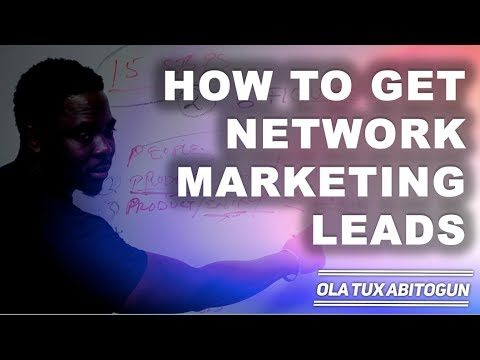 How to get network marketing leads