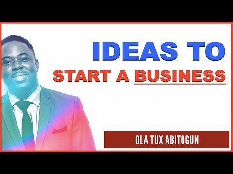 How to Think of Ideas to Start a Business