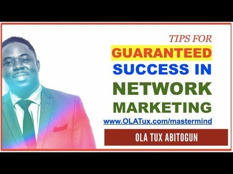 3 Tips on How to be Successful in Network Marketing