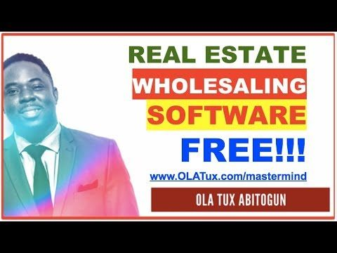 Did you know that the Best Real Estate Wholesaling Software is Actually Free?