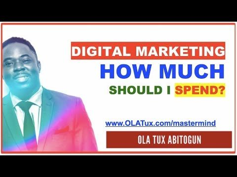 Digital Marketing – How Much Should I Spend on Internet Marketing