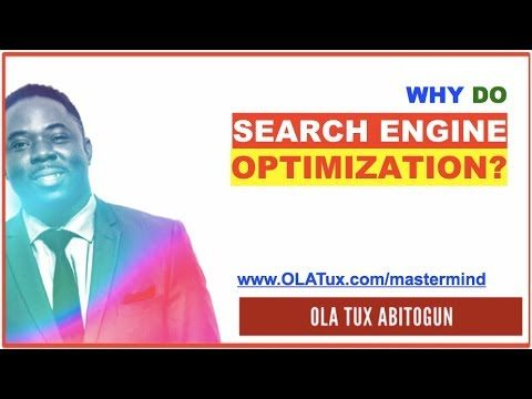 Why Do Search Engine Optimization (S.E.O) as a Online Marketing Strategy?