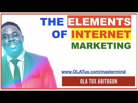 Internet Marketing – What are the Elements of Internet Marketing?