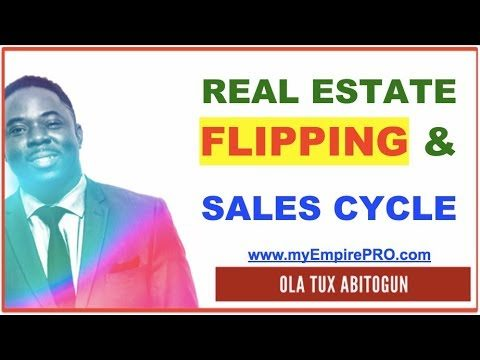 What is Real Estate Flipping Role in the Sales Cycle?