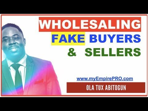Detecting Fake Sellers & What to do with them