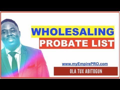 Probate List, Surrogate & Family Court