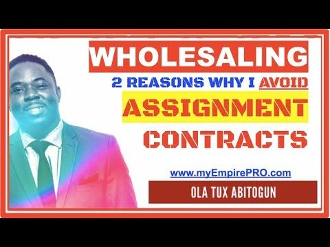 2 Reasons Why I Avoid Real Estate Assignment Contracts 📍 FREE DOWNLOAD