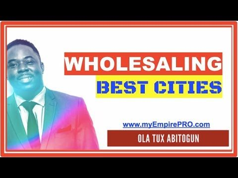 2 Ways to Identify BEST CITIES 📍 Wholesale Real Estate