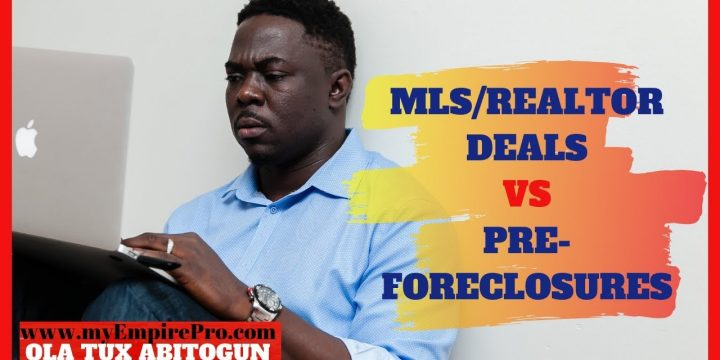 MLS/REALTOR DEALS VS PRE-FORECLOSURES 📍 How To Wholesale Pre-Foreclosures