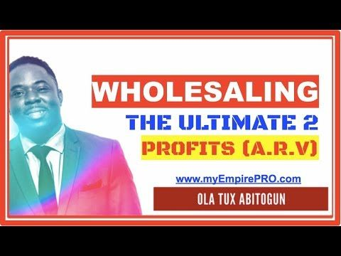 The Ultimate 2 That Determine PROFITS (ARV) 📍 Wholesale Real Estate