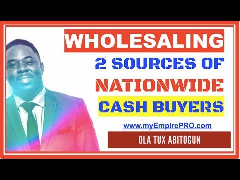 Top 2 Ways to Build Nationwide List of CASH BUYERS 📍 Wholesale Real Estate Investing