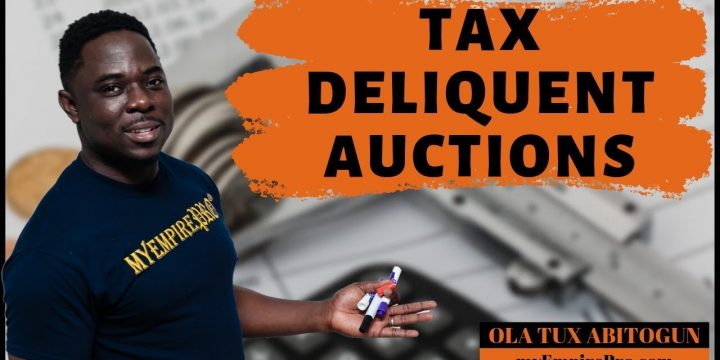 $1,000 PER DAY TAX DELINQUENT AUCTION PROFITS 📍 Real Estate Wholesale