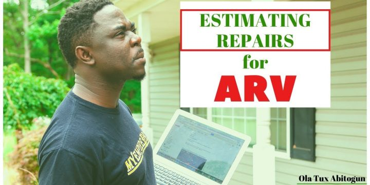 ESTIMATING REPAIR COST FOR ARV 📍 Wholesale Real Estate