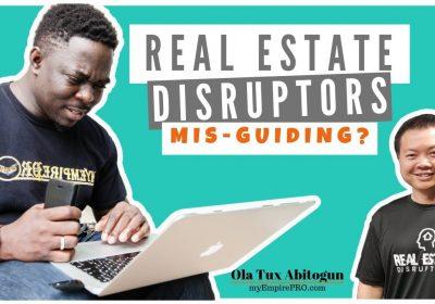 REAL ESTATE DISRUPTORS (Steve Trang) MiS-GUIDING⁉️📍 Real Estate Wholesale