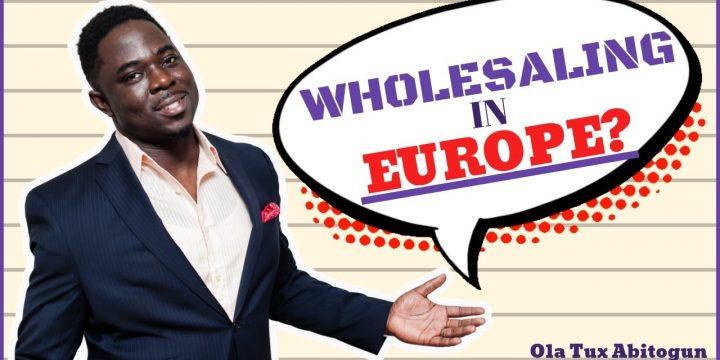 WHOLESALING IN EUROPE/UK⁉️📍 Real Estate Wholesaling